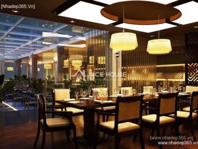 Thiết kế và thi công nội thất nhà hàng cây Xoài