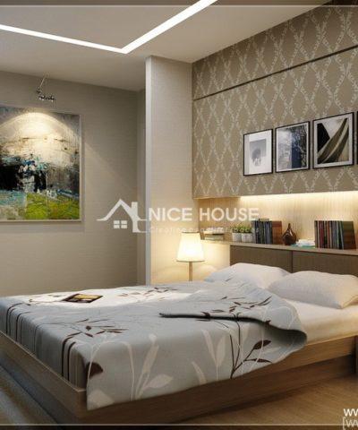 Thiết kế nội thất căn hộ nhà cô Hằng - HN