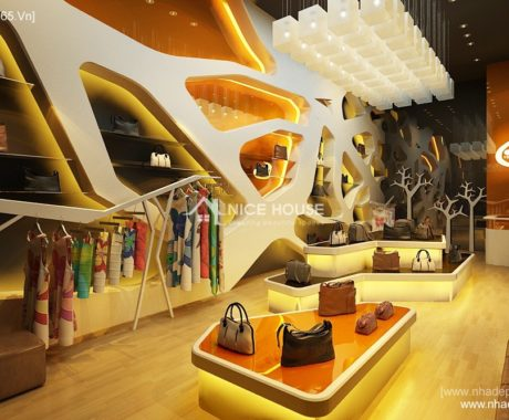 Thiet ke noi that Shop quan ao Keangnam
