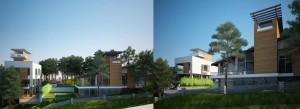 Thiết kế kiến trúc, biệt thự và nhà phố