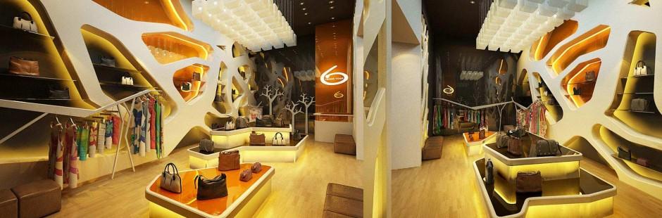 Thiết kế nội thất nhà hàng, shop
