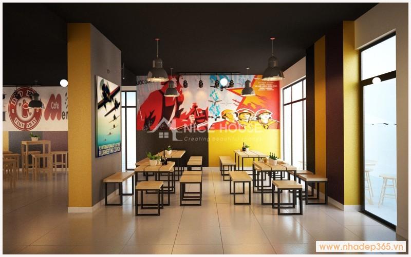 Nội thất Cafe and Fast food - Trường Đh Tổng hợp