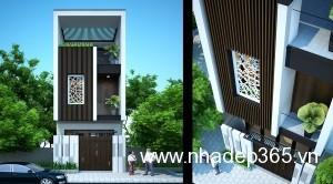 Thiết kế nhà phố Hải Dương 8