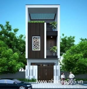 Thiết kế nhà phố Hải Dương 1