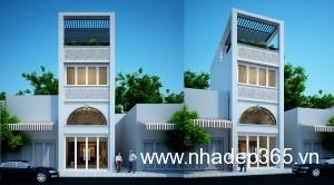 Thiết kế nhà phố anh Hưng Yên 1