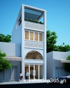 Thiết kế nhà phố anh Hưng Yên 168