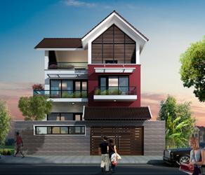 Thiết kế nhà phố, nhà lô
