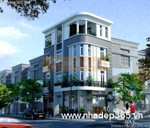 Thiết kế nhà phố 2 mặt tiền ở và kinh doanh
