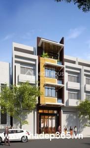 Tư vấn thiết kế nhà phố 3.5 tầng hiện đại