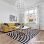 Thiết kế phòng khách theo phong cách Bắc Âu