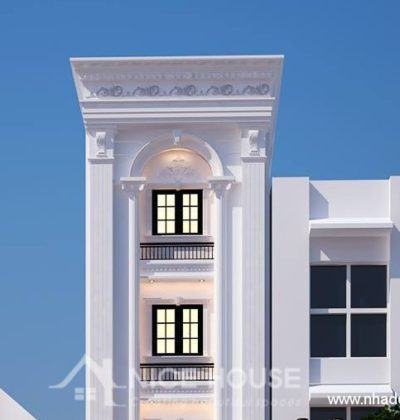 Thiết kế nhà phố theo phong cách cổ điển
