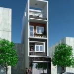 Tư vấn thiết kế nhà phố 5x17m đẹp