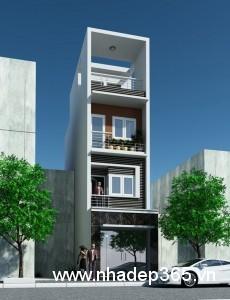 Thiết kế nhà phố 5x17m hiện đại