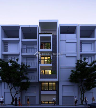 Thiết kế nhà phố 4x16m anh Hào - HN