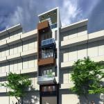 Thiết kế nhà phố 4 tầng diện tích 4×12,5m