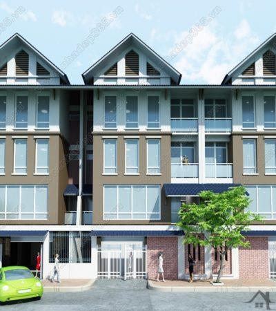 Thiết kế nhà phố liền kề hiện đại