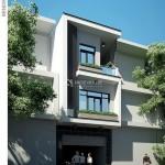 Thiết kế nhà phố 3 tầng hiện đại 5x11m