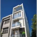 Thiết kế nhà phố 5 tầng hiện đại 3,7×10,5 m