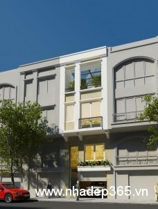 Thiết kế nhà phố 5x10m 2 tầng