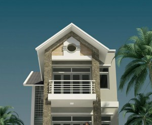 Tư vấn thiết kế nhà phố 3 tầng diện tích 7x15m