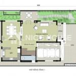 Thiết kế biệt thự 3 tầng với diện tích 8x12m