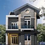 Thiết kế biệt thự 2 tầng mái Thái tại Hà Tĩnh