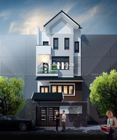 Thiết kế nhà phố 4 tầng diện tích 6,5x15m
