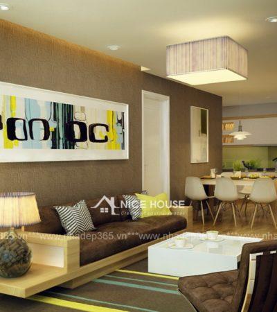 Thiết kế nội thất chung cư Mipec Anh Sơn Hà Nội