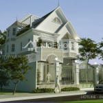 Thiết kế biệt thự 3 tầng 12x20m Biên Hòa