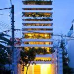 Nhà ở Quận 2, Tp Hồ Chí Minh (Stacking Green House) thiết kế Võ Trọng Nghĩa Architects